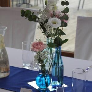 butelki niebieskie